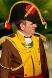 Historical military reenacting Royalty Free Stock Photos