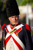 Historical military reenacting Royalty Free Stock Images