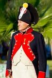 Historical military reenacting Royalty Free Stock Photo