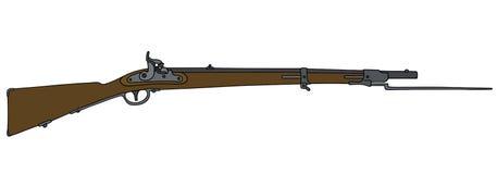Historical military rifle Royalty Free Stock Photos