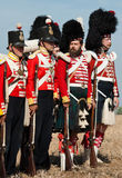 Historical military uniform of British army Royalty Free Stock Photography