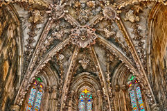 Historical monastery of Batalha in Portugal Stock Image