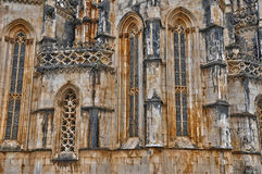 Historical monastery of Batalha in Portugal Royalty Free Stock Photography