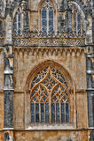 Historical monastery of Batalha in Portugal Stock Images