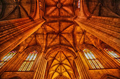 Historical monastery of Batalha in Portugal Royalty Free Stock Image