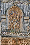 Historical monastery of Batalha in Portugal Stock Photos
