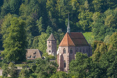 The historical monastery Hirsau in the Black Forest Stock Photography