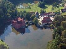 Historical monument Červená Lhota. Beautiful castle historical monument Cervena Lhota , South Bohemia. Czech Republic royalty free stock image