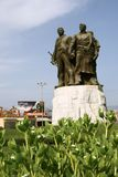 Historical Monument. In northern albania royalty free stock images