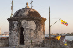 Historical monument in Cartagena, Colombia Royalty Free Stock Photography