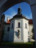 Historical monument of klokoty monastery in tabor Stock Photography