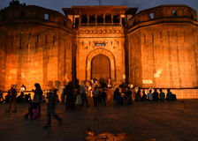 Historical Monument. In Pune, Shaniwar Wada royalty free stock photo