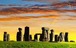 Historical monument Stonehenge Stock Photography