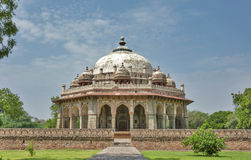Historical Monument. A tomb in Delhi with blue sky in background Royalty Free Stock Photos