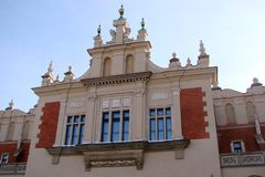 City ​​of Krakow. Poland The landscape of modern and ancient Catholic architecture and monuments of sculpture. Historical monuments of ancient Catholic Stock Photos