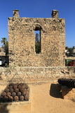 Historical monuments and buildings in the town of Famagusta, Northern Cyprus Royalty Free Stock Images