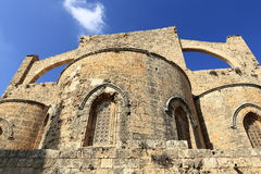 Historical monuments and buildings in the town of Famagusta, Northern Cyprus. A Picture of the historical monuments and buildings in the town of Famagusta Royalty Free Stock Photo