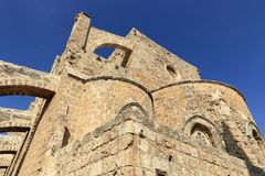 Historical monuments and buildings in the town of Famagusta, Northern Cyprus Royalty Free Stock Photos