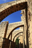 Historical monuments and buildings in the town of Famagusta, Northern Cyprus Royalty Free Stock Photography
