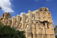 Historical monuments and buildings in the town of Famagusta, Northern Cyprus Royalty Free Stock Photo