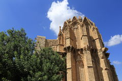 Historical monuments and buildings in the town of Famagusta, Northern Cyprus Stock Images