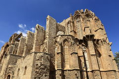 Historical monuments and buildings in the town of Famagusta, Northern Cyprus Royalty Free Stock Image