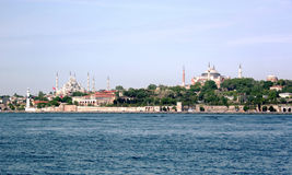 Historical monuments-Istanbul Stock Image