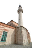 Historical Mosque, isolated, Istanbul, Turkey Royalty Free Stock Photography