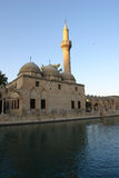 Historical mosque in Urfa Turkey Stock Photo