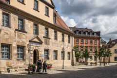 Historical museum - Bayreuth old town Stock Images