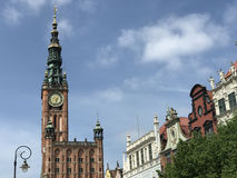 Historical Museum of the City of Gdansk Stock Photos