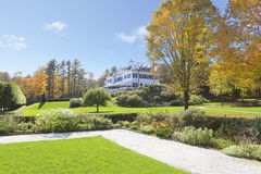 Historical museum mansion in Lenox, MA. The Mount. Royalty Free Stock Photos
