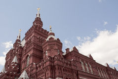 Historical museum at Red Square Stock Images