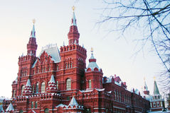 Historical museum, Red Square, Moscow, Russia Stock Images
