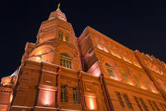 Historical Museum on Red Square Royalty Free Stock Image