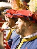 Historical music band.florence Stock Image