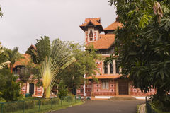 Historical Napier Museum in India. Side view of historical Napier Museum in India Stock Image