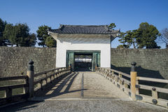 The historical Nijo Castle. At Kyoto, Japan Stock Photos