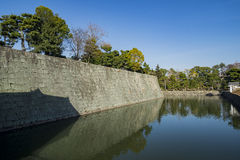 The historical Nijo Castle. At Kyoto, Japan royalty free stock images