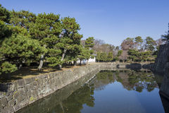 The historical Nijo Castle. At Kyoto, Japan Royalty Free Stock Photography