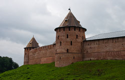Historical novgorod kremlin Stock Images
