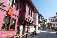 Historical Odunpazari Town Royalty Free Stock Photography