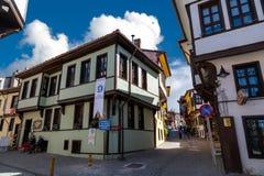 Historical Odunpazari Town Stock Photography