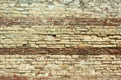 Historical old brick wall Stock Photo
