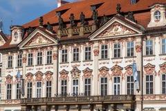 Building of Narodni Galerie in Prague. Historical old building of Narodni Galerie in Prague, Czech Republic Stock Photo