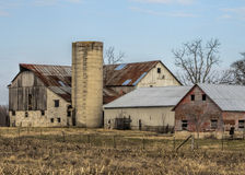 Historical Old Rustic Barn Royalty Free Stock Photo