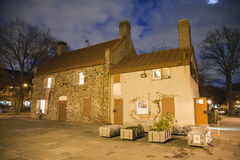 The historical Old Stone House Museum Stock Photography