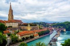 Bern, the capital city of Switzerland stock image