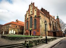 Historical Old Town of Gdansk Stock Images
