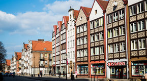 Historical Old Town of Gdansk Royalty Free Stock Photography